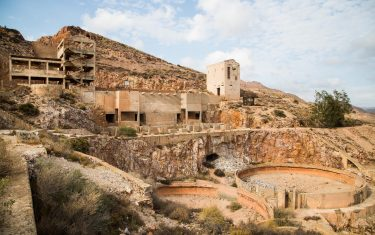 Old gold mines on our Cabo de Gata Walking Holidays