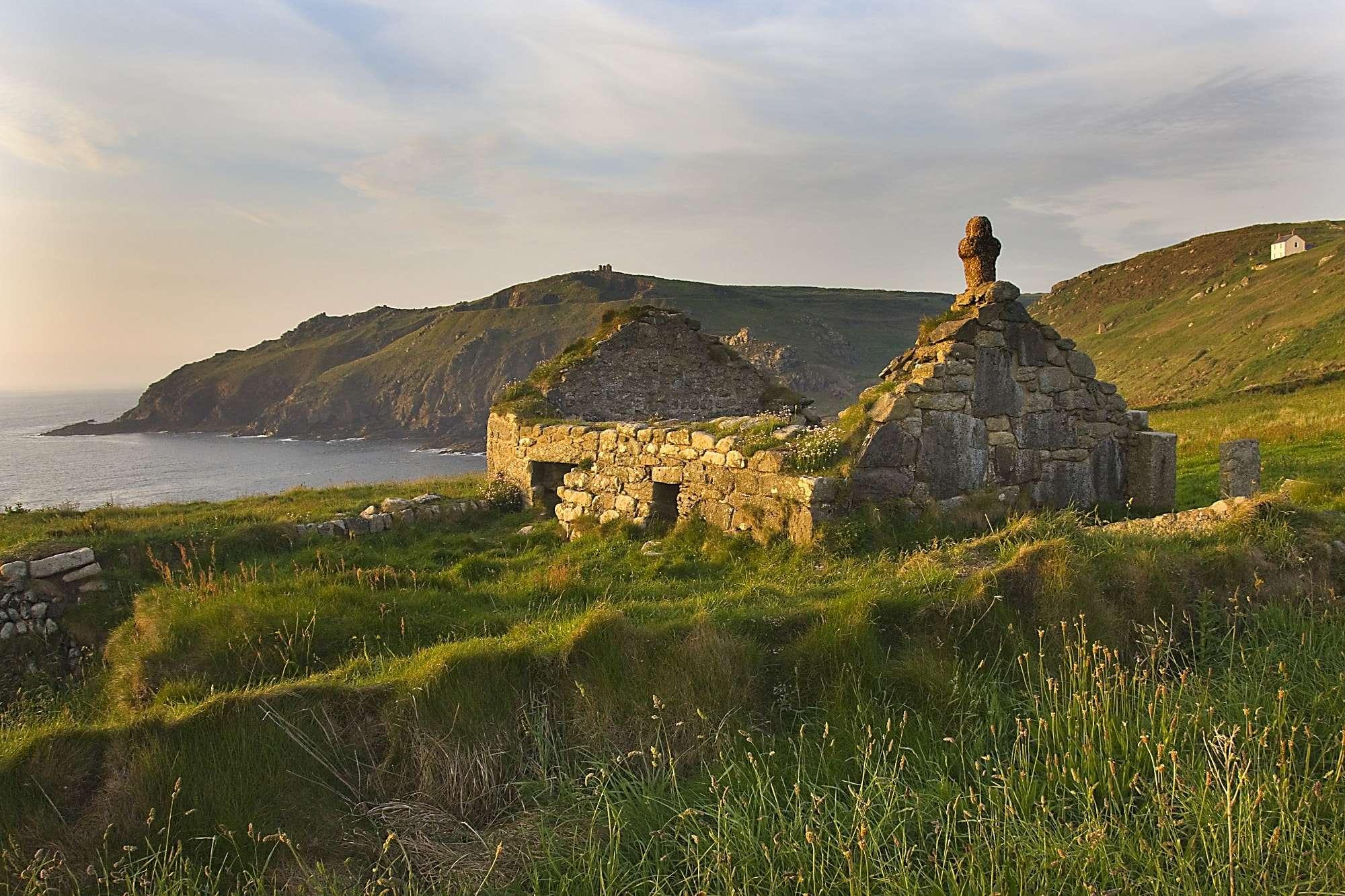 south west coast walk Cape Cornwall chapel