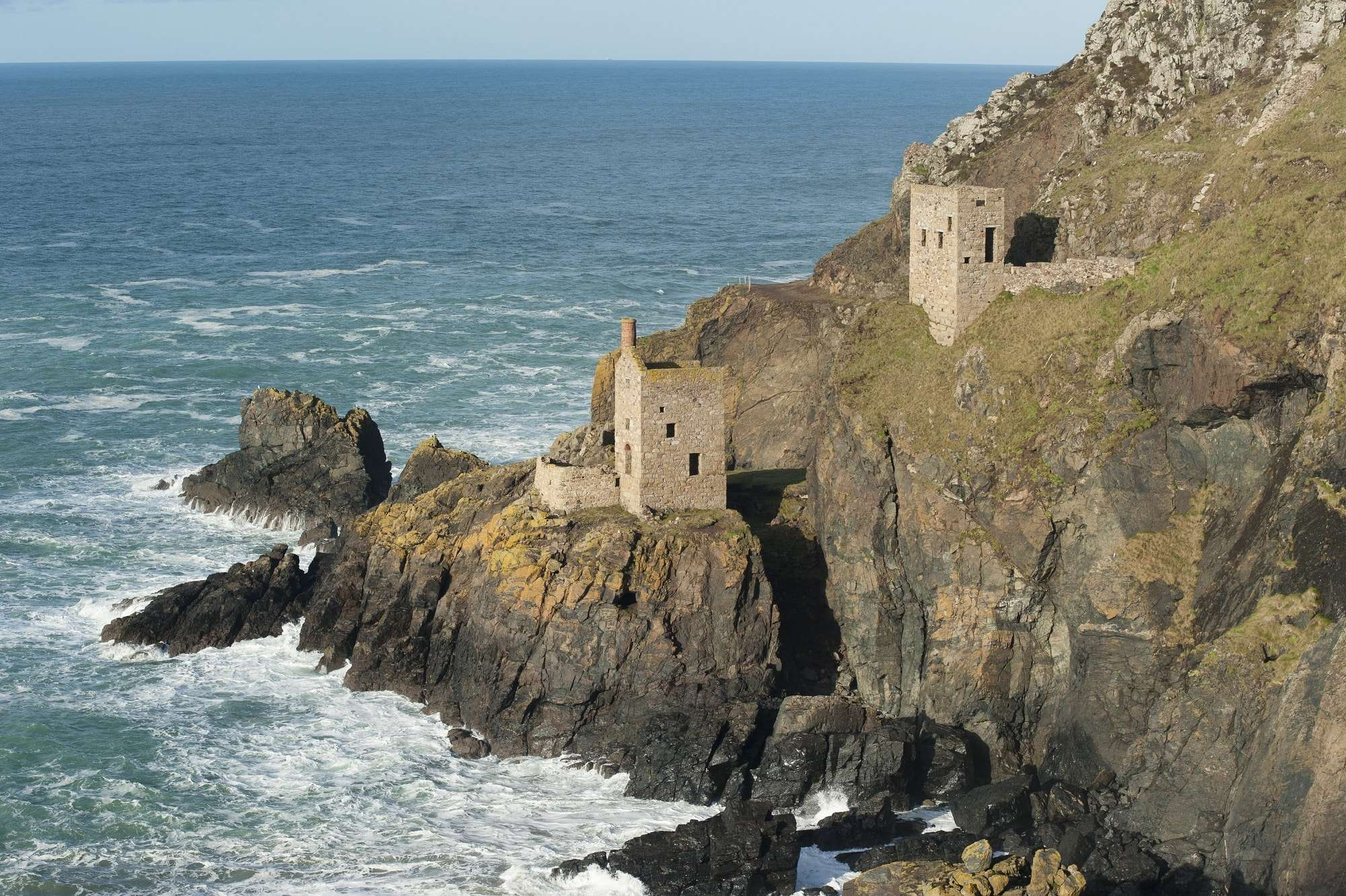 walking holidays in cornwall england, Botallack Coastline