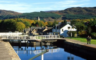 Caledonian Canal at Fort Augustus