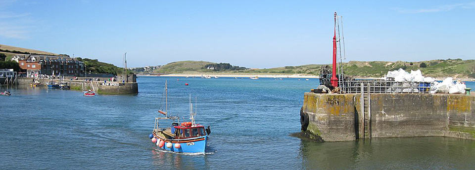 Padstow harbour The saints way