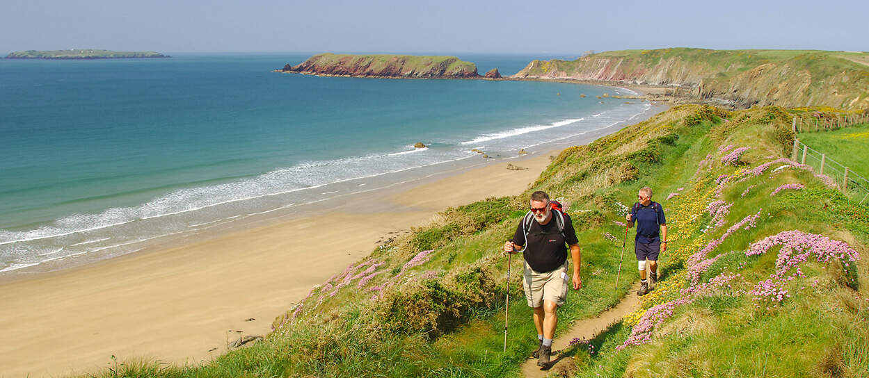 Pembrokeshire-Coast-Path-Walking Holiday