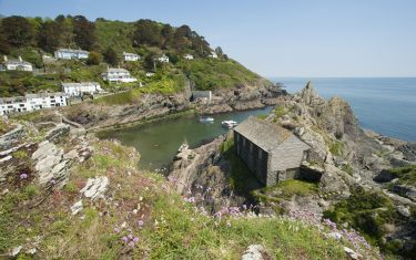walking holidays in cornwall england, Polperro - Falmouth to Looe © Adam Gibbard, Visit Britain SWCP