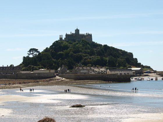 St Michaels Mount - Alex Healing Walking Holiday South West Coast Path