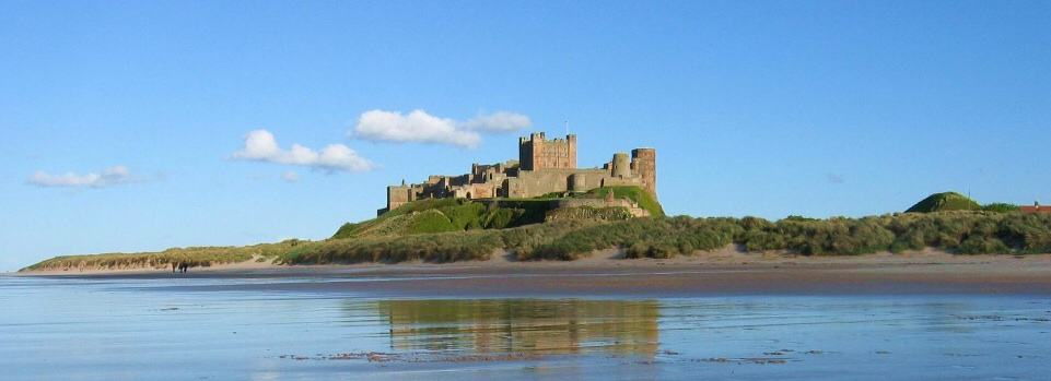 Bamburgh Castle Walking Northumberland Coast Path