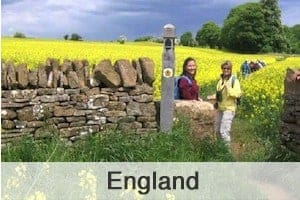England Walking Holidays