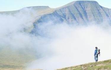 Mountains and Mist in Pen y Fan
