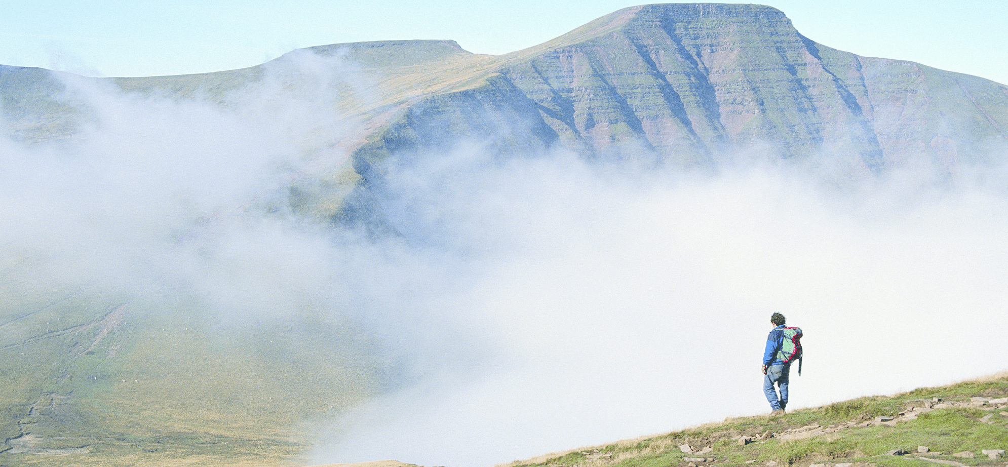 Mountains and Mist in Pen y Fan