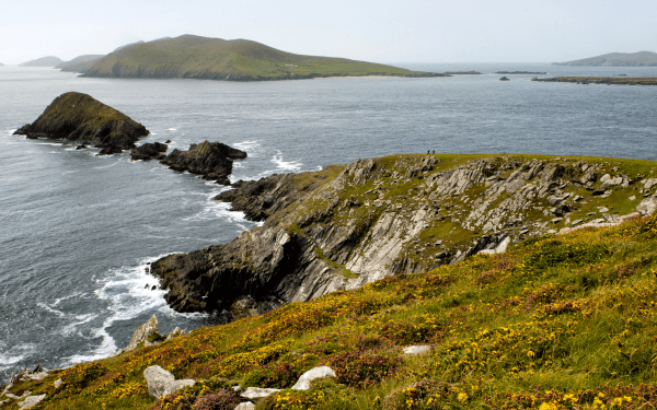 Irish Sea on the Dingle Way