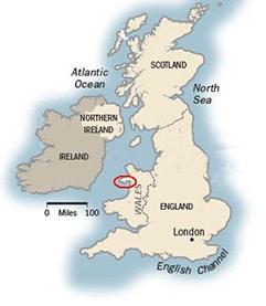 Llyn Coastal Path map
