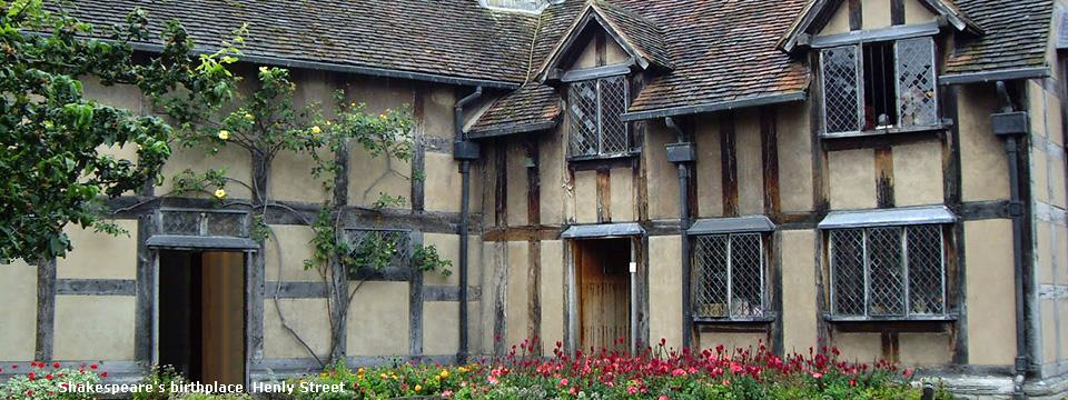 Shakespeares-House-Courtyard Celtic Trails UK Walking Holidays