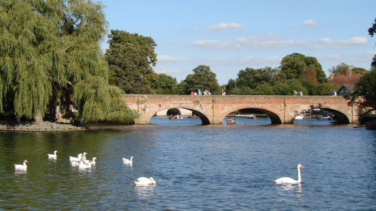 Bridge over the River Avon at Stratford
