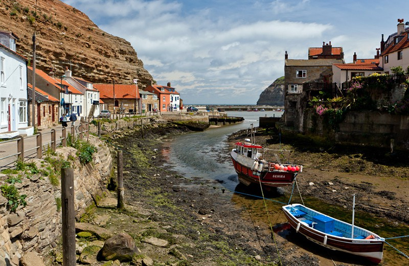 Staithes Fishing village cCeveland Way