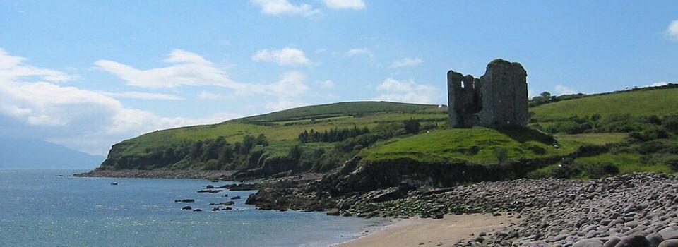 Minard Castle Walking Dingle Way