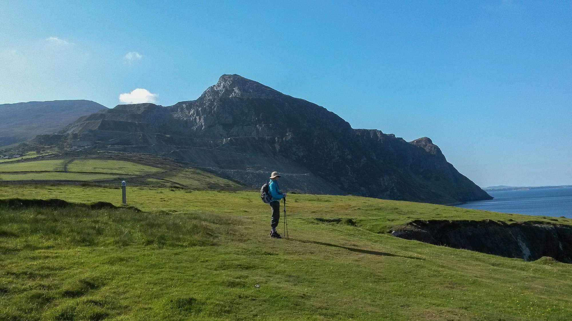 walkers on the llyn peninsula