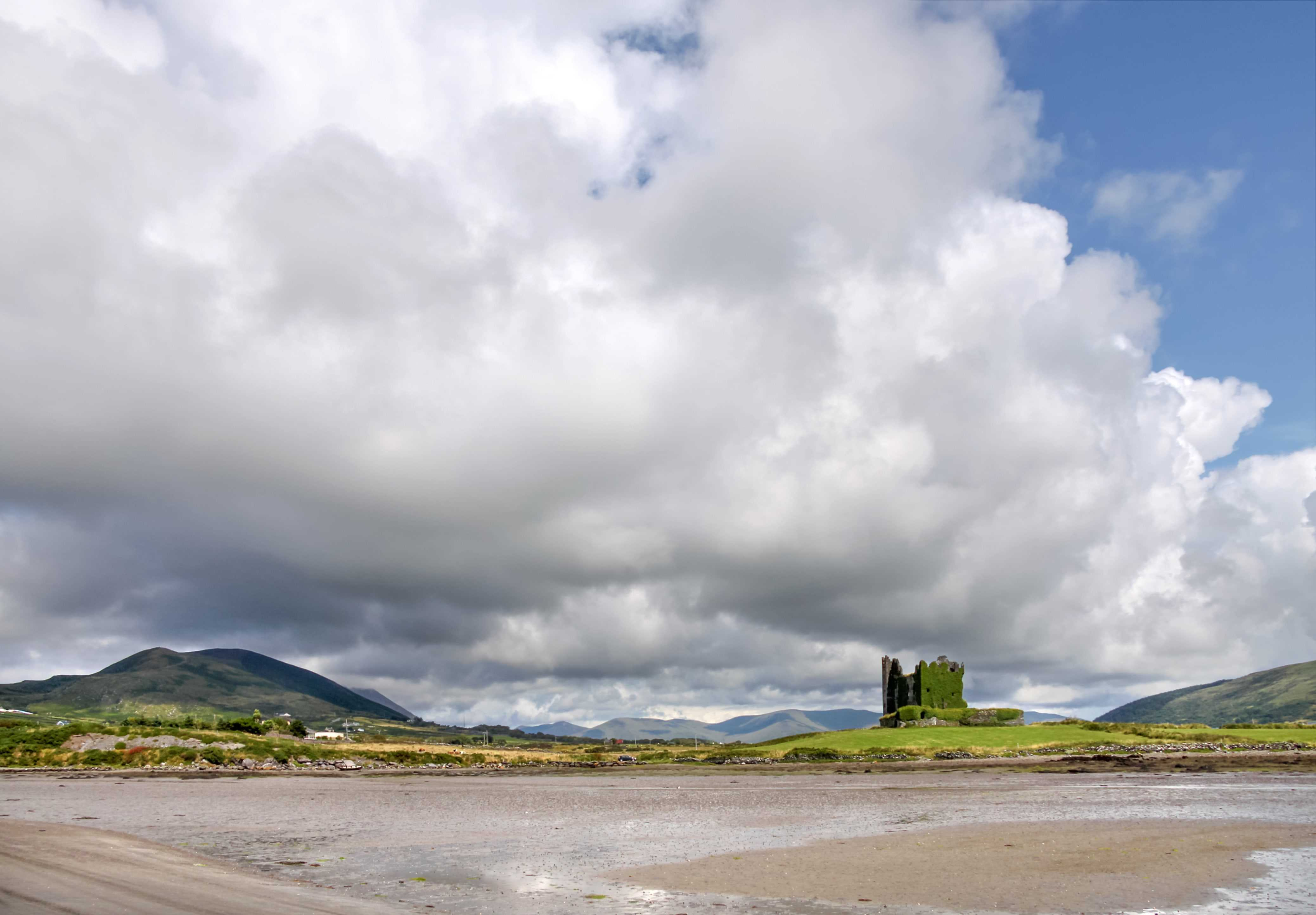 Image of Ballycarbery Castle, Cahersiveen on the County Kerry Way