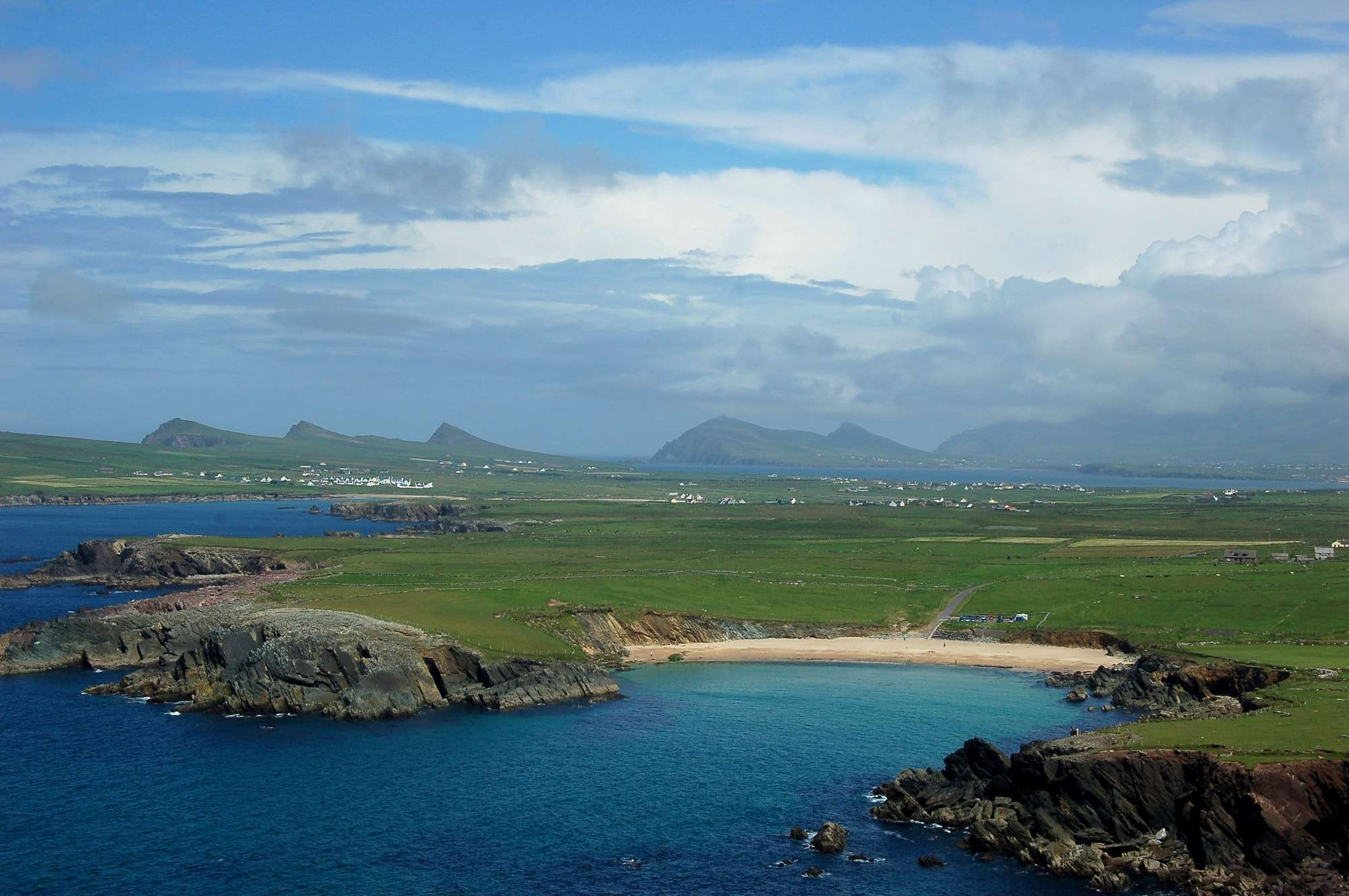Dingle, the only town on the Dingle peninsula
