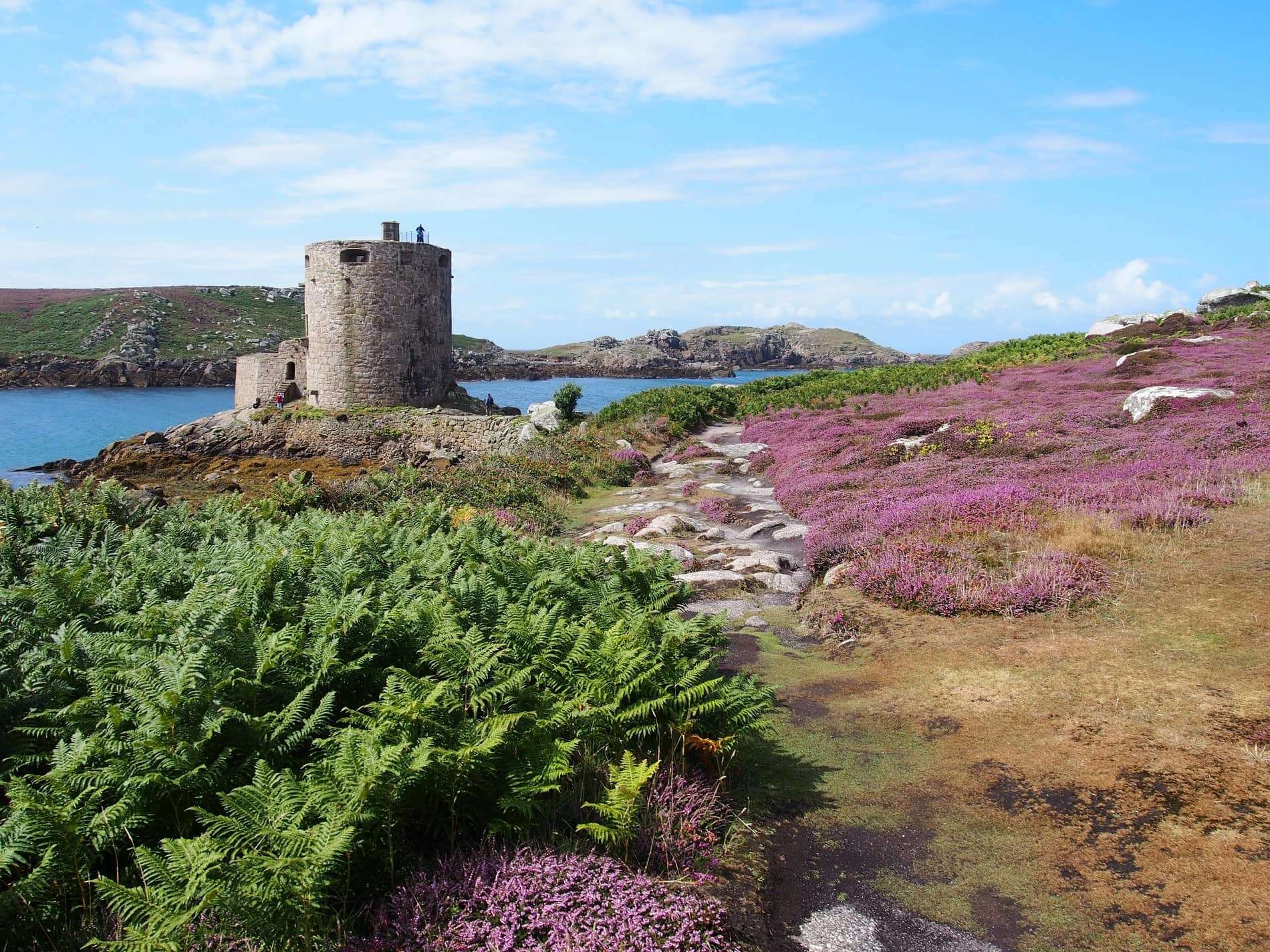 Cromwell's Castle, 17th-century fortification on the island of Tresco