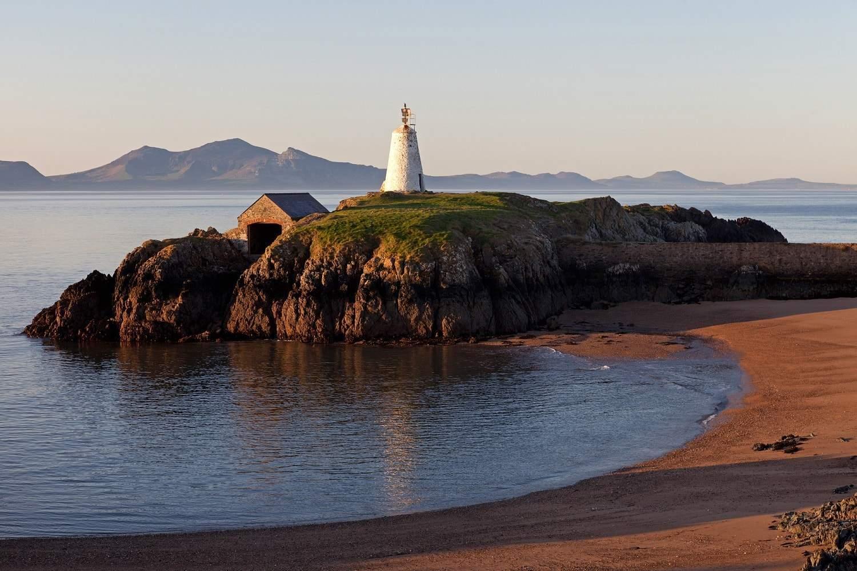 Llandwyn Island, part of the Llŷn Peninsula