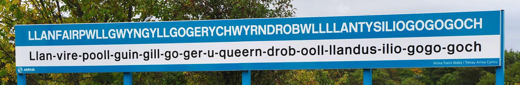 Walking Holidays in Wales - Llanfairpwllgwyngyllgogerychwyrndrobwllllantysiliogogogoch