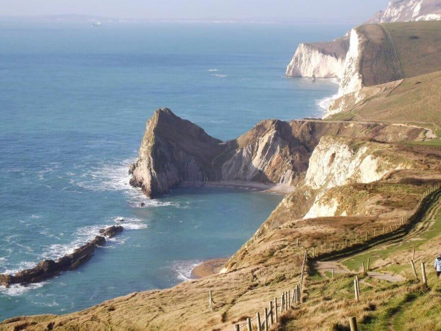 St Oswalds Bay-Jurassic-Coast-Path