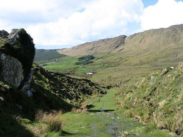 Landscape Across Ring of Kerry