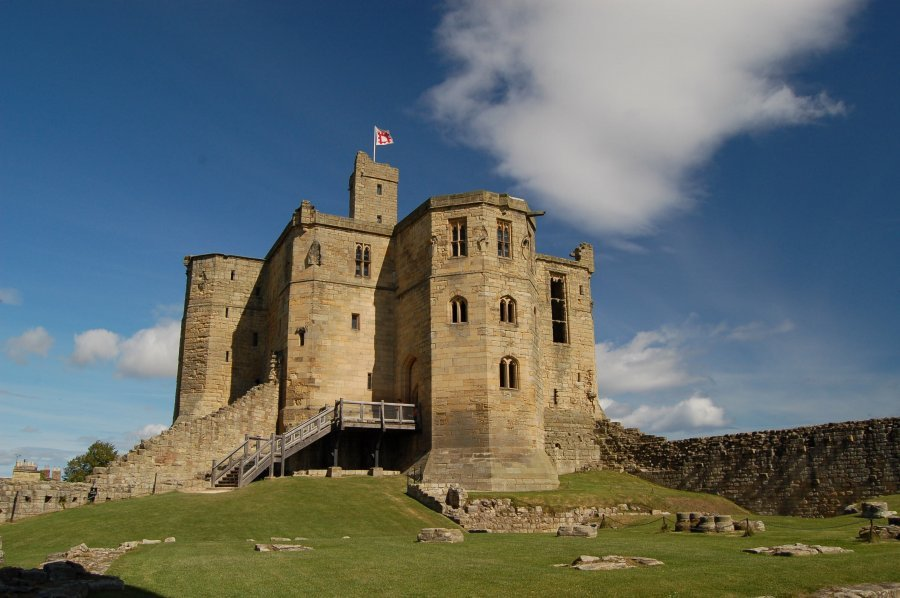 Warkworth-Castle-Northumberland-Coast-Path