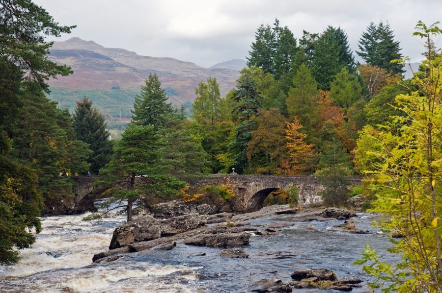 Falls of Dochart-Rob-Roy-Way
