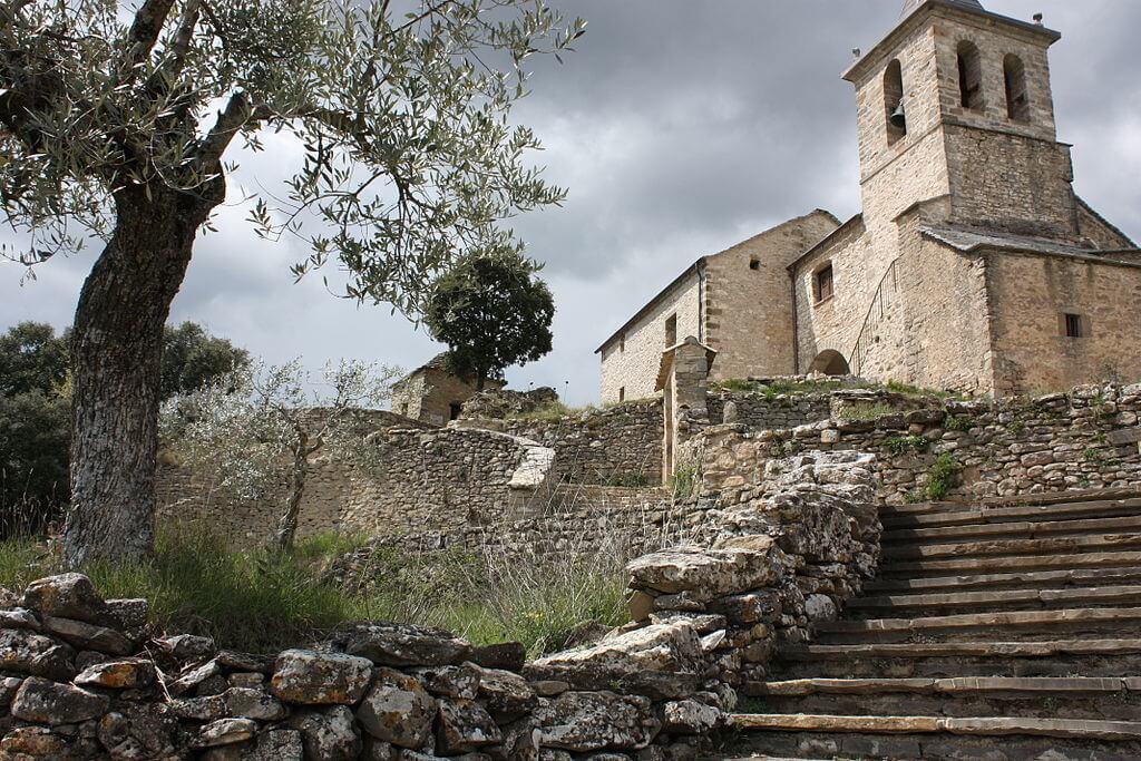 Walking Holidays in Aragon, Spain - iglesia_de_almazorre