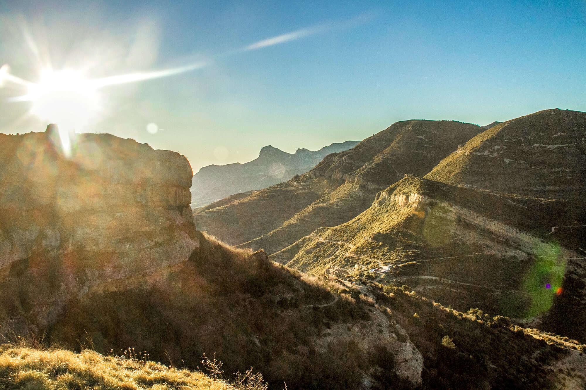 Walking Holiday in Aragon Sierra_de_Guara