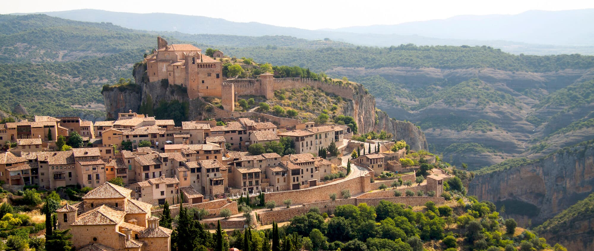 Walking-holidays-in-aragon-alquezar