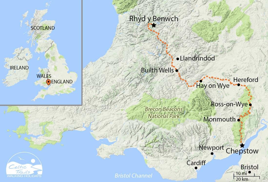 Wye Valley Walk Map