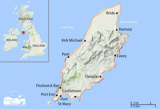 Isle Of Man Coastal Path Walking Holiday Itinerary