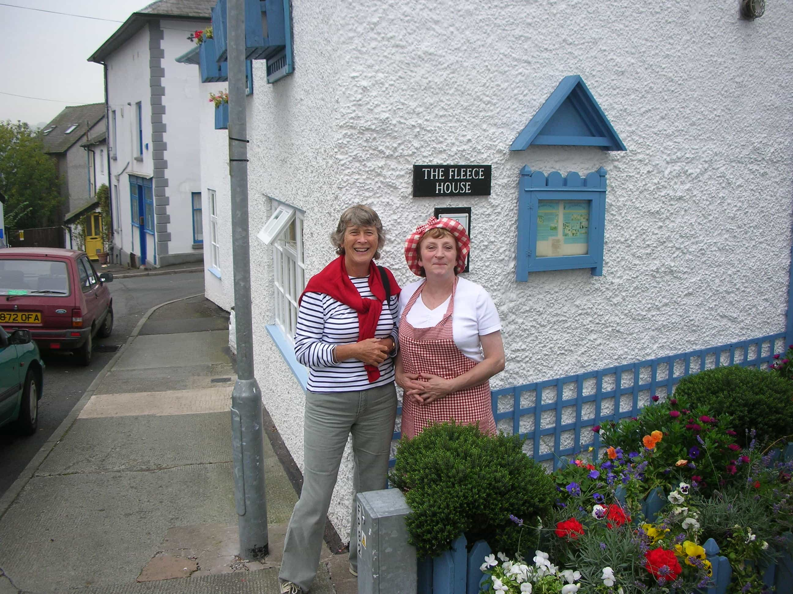 The Fleece house cottage Offa's Dyke