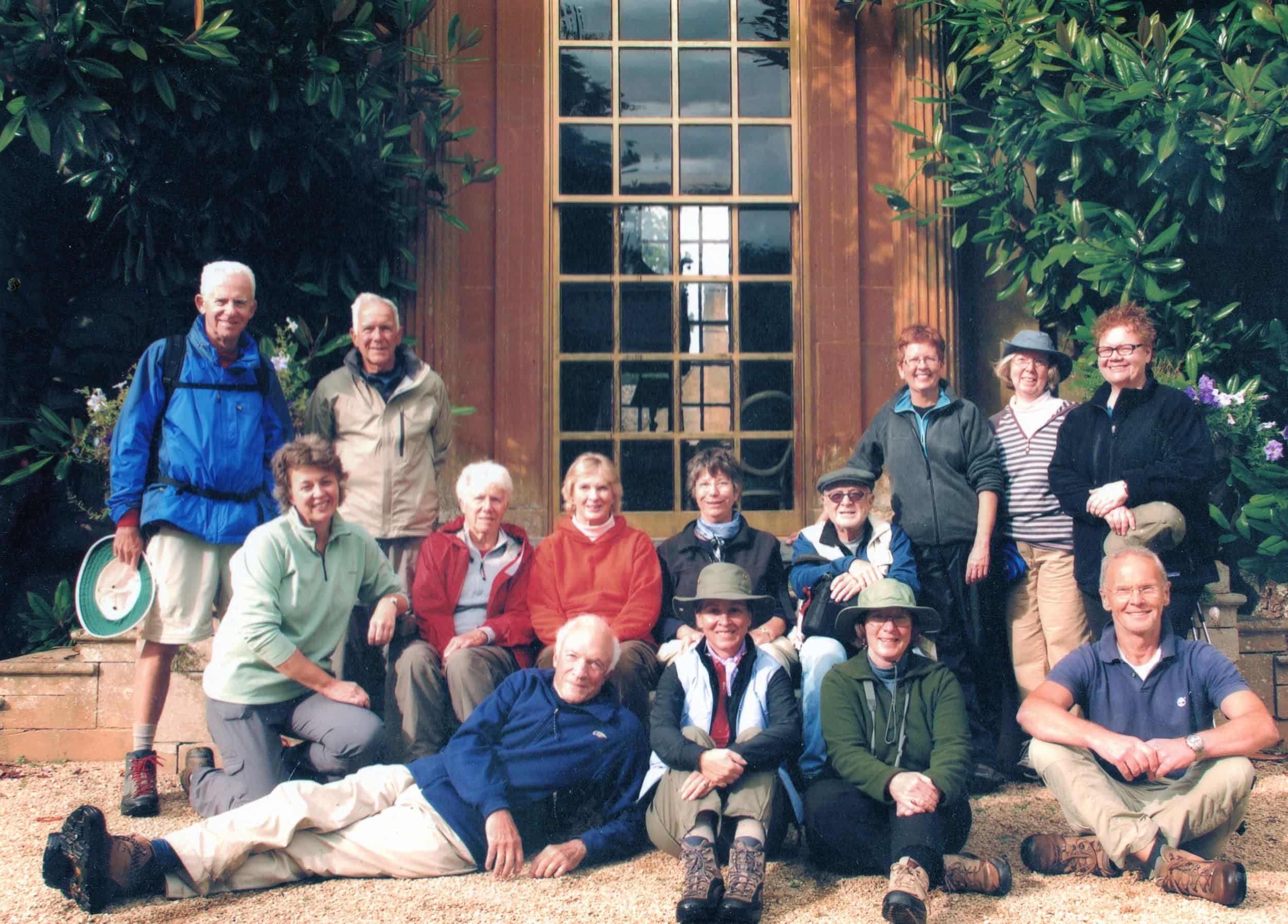 Some of our first guided walks