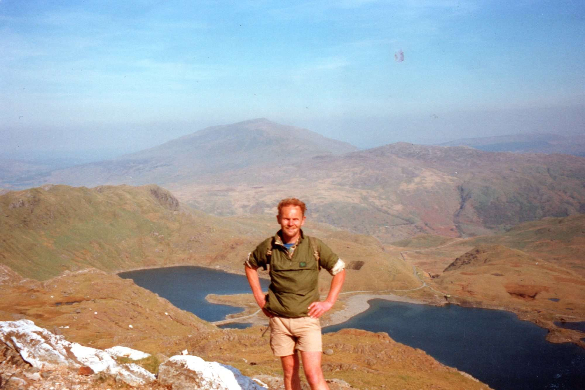 Angus walking in Snowdonia