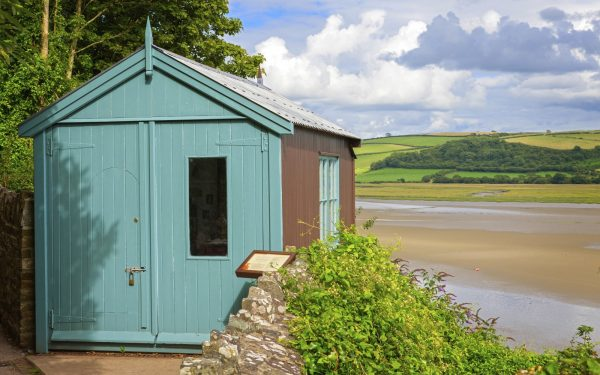Image of Dylan Thomas' Writing Shed, Laugharne, Camarthenshire, Wales