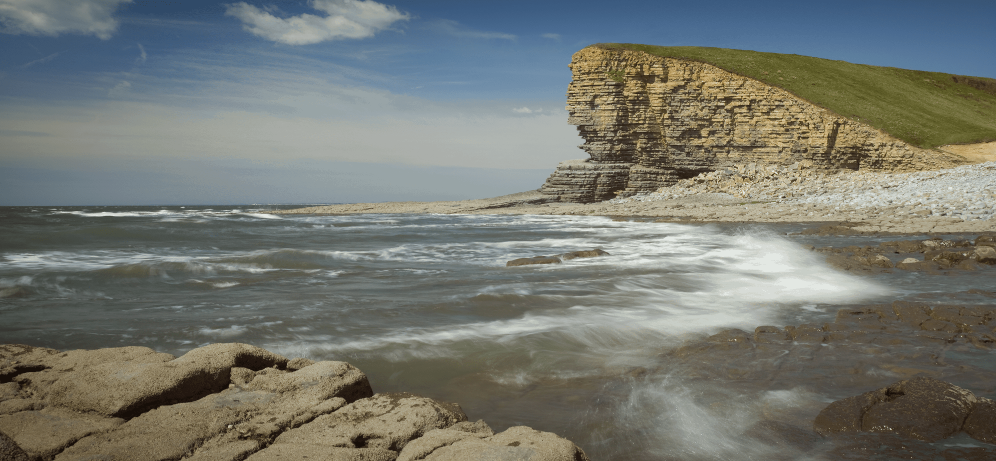 Glamorgan Heritage Coast on the South Wales Coast Path