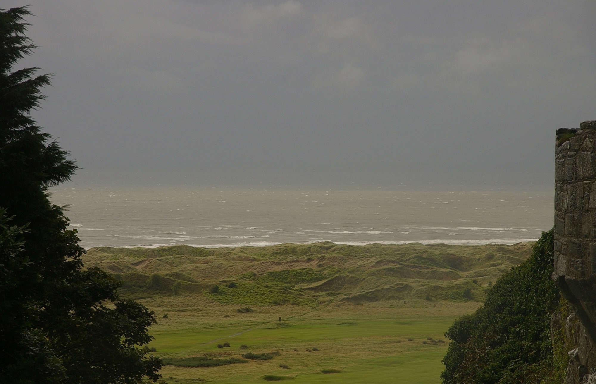 Coast view from Harlech Castle Credit:Matt Buck