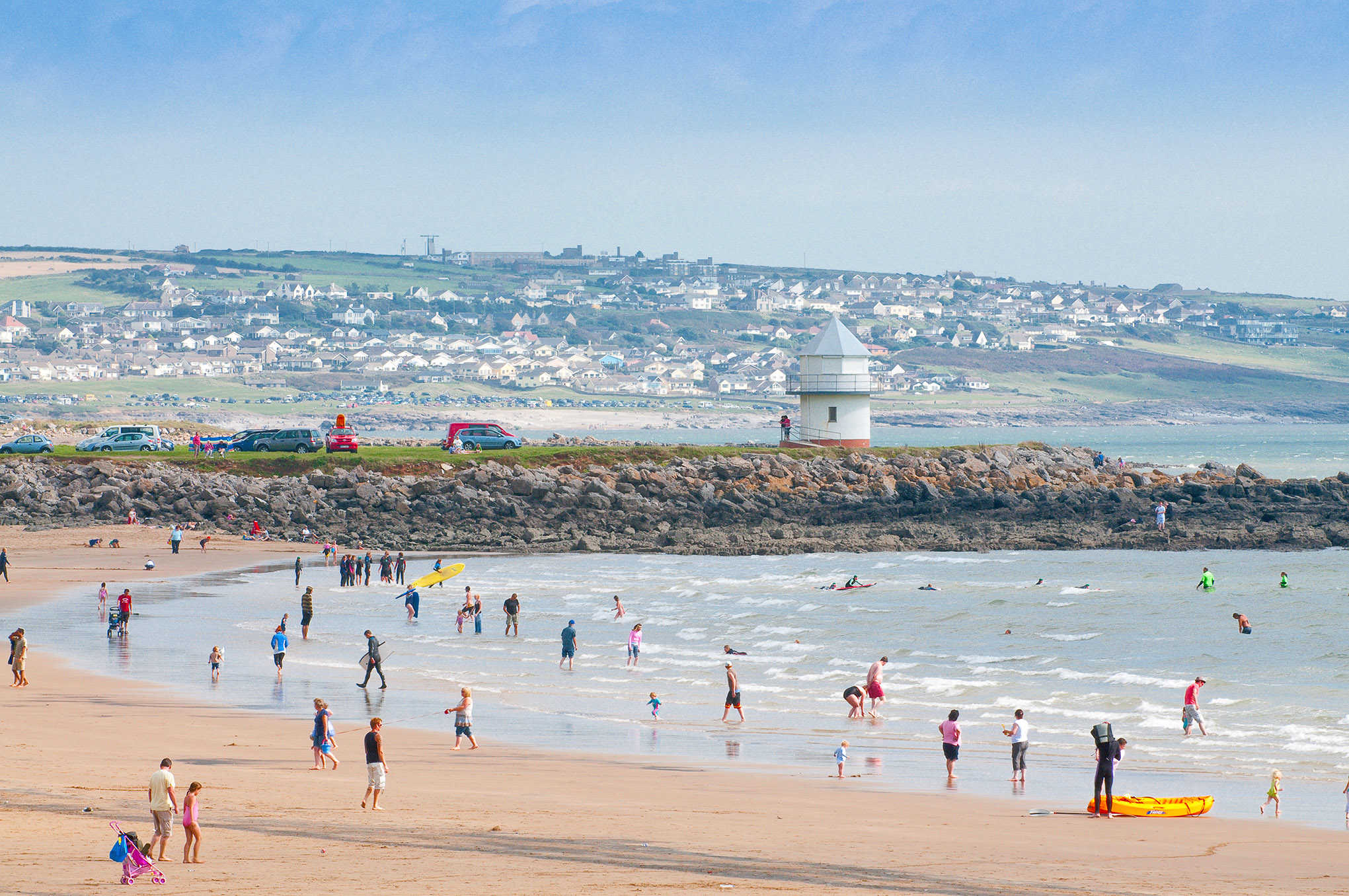 Image of crowd at Porthcawl, Sandy Bay