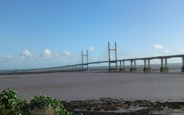 Severn Bridge/Estuary South Wales Chepstow Coast Path