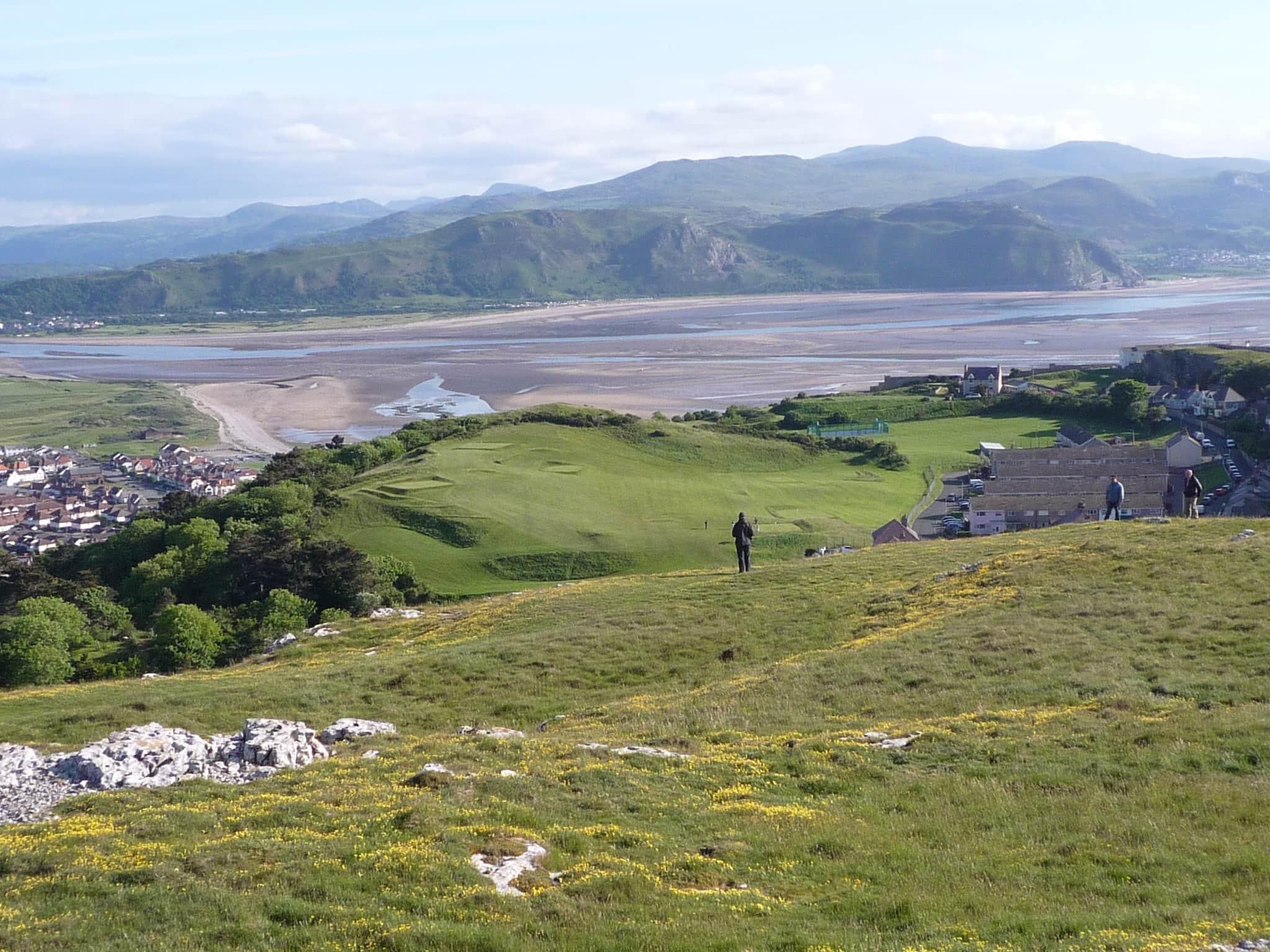 North Wales Walks view from Great Orme, Llandudno, North Wales Coast Path Gallery © Duncan Hull