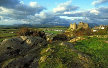 Meirionnydd Gallery Harlech Town and its Castle