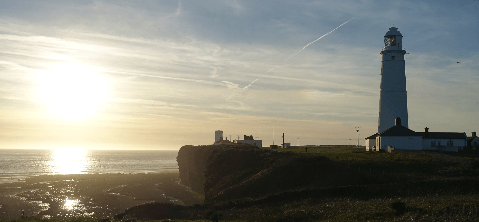 Image of Sunset over Nash Point