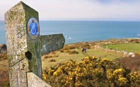 Image of Wales Coast Path signpost