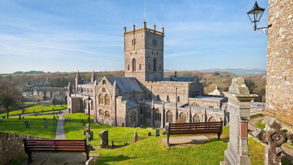Image of St.Davids Cathedral, in the smallest city in the U.K.