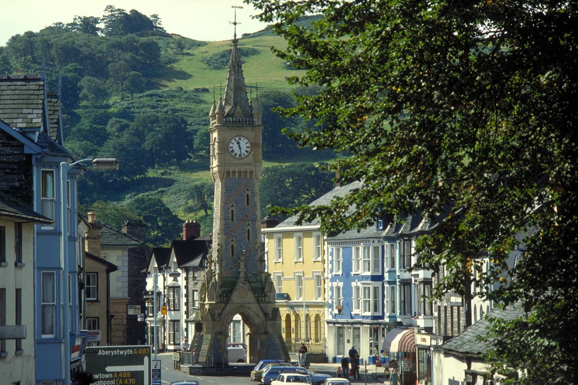 Image of The Clock Tower at Machynlleth