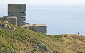 Image of The German Range Finding and Observation Tower, Guernsey, England