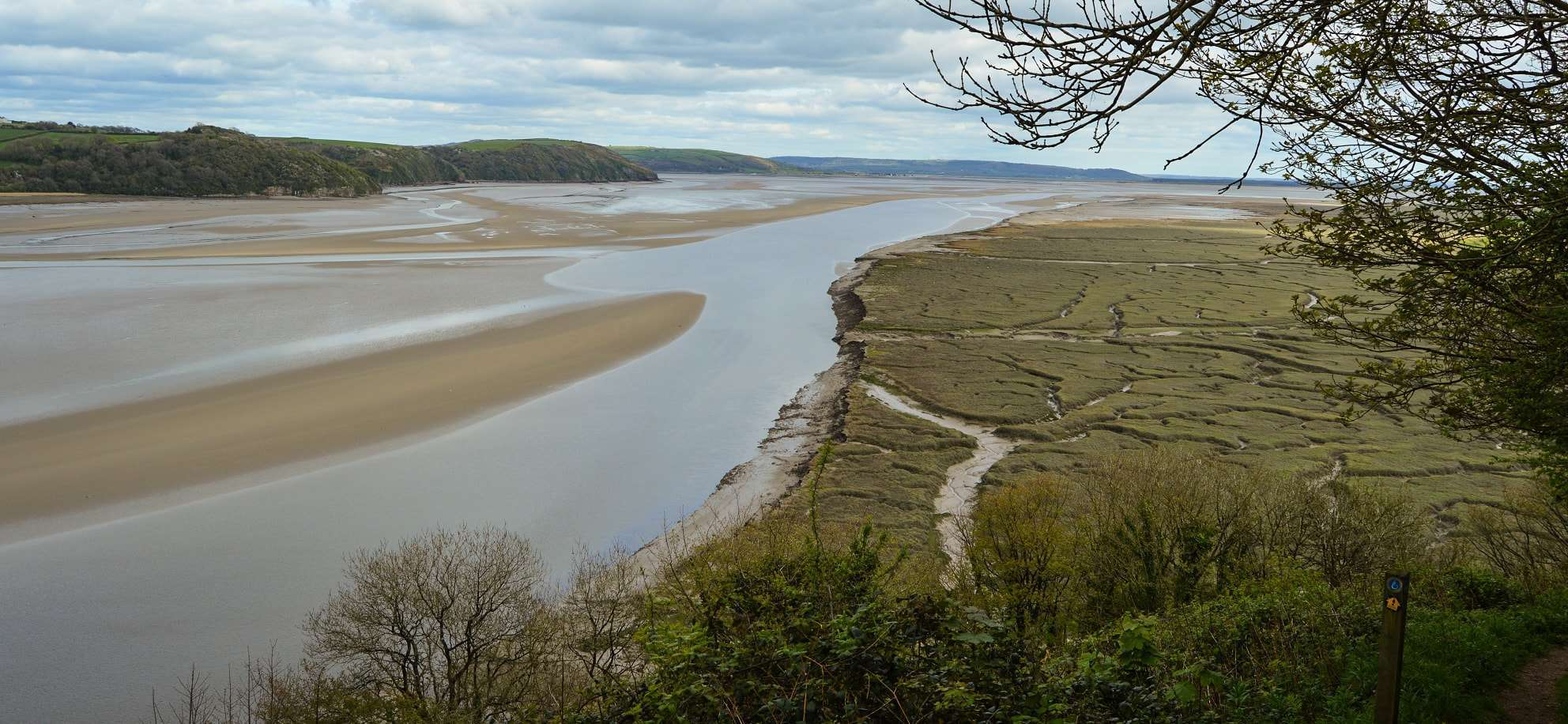 DylanThomas Birthday Walk Taf Estuary