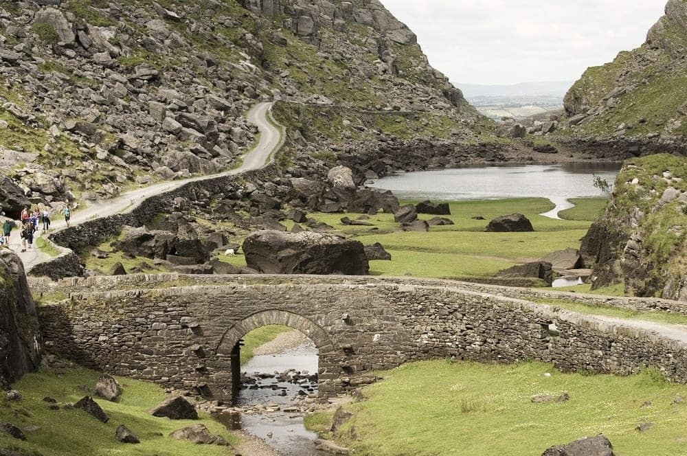 Gap of Dunloe, Irish walking holidays